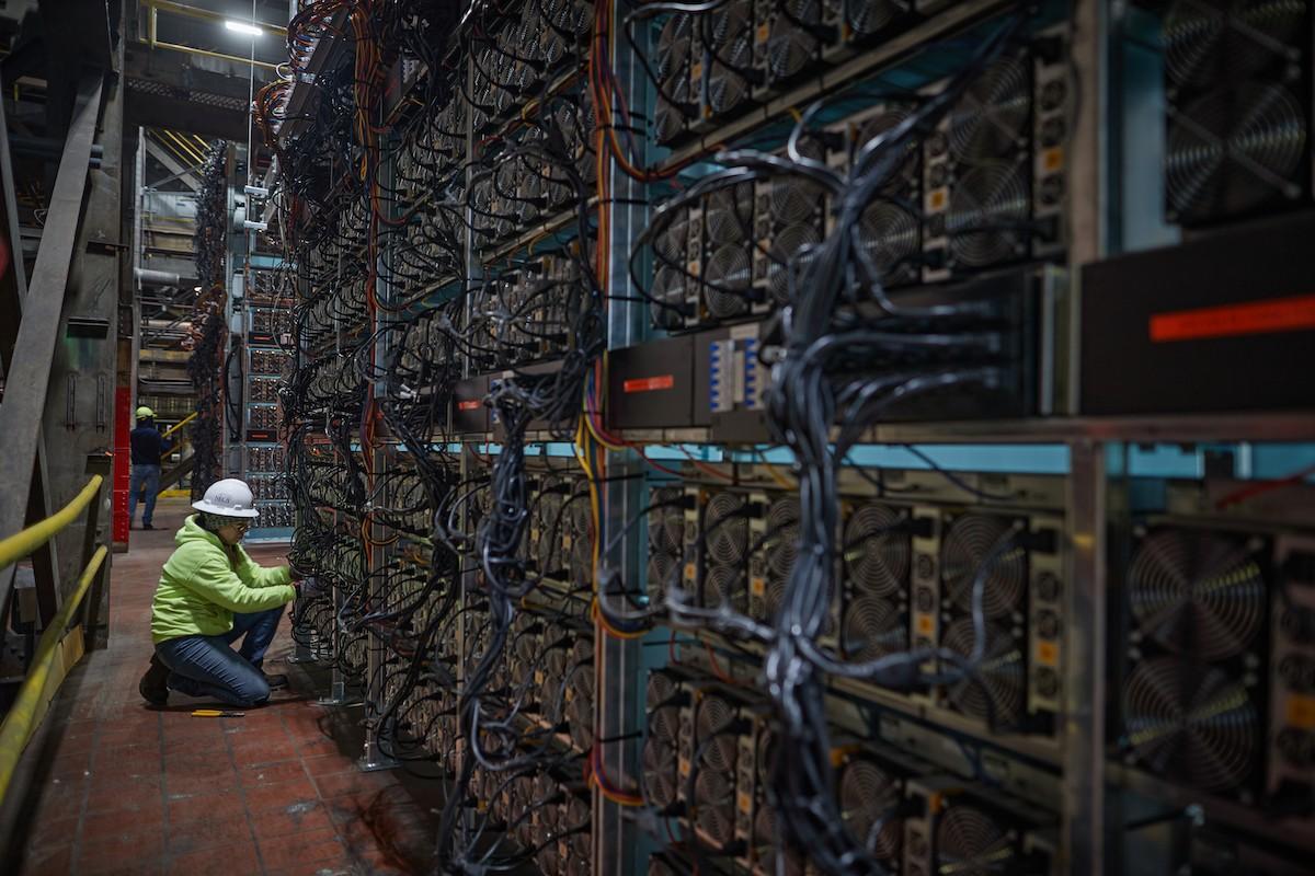 minero de criptomoneda